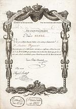 K�nigreich Spanien - Real Caja de Amortizacion, Madrid, 1824