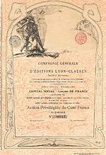 Compagnie Générale d'Éditions Lyon-Claesen S.A.