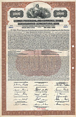 German Provincial and Communal Banks Consolidated Agricultural Loan, 1928