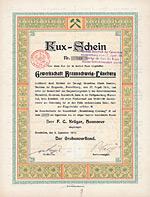 Gewerkschaft Braunschweig-Lüneburg, Grasleben, 1910