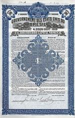 Gouvernement des Etats Unis du Bresil, 1910