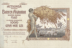 Banca Agrara, Cluj, 1921