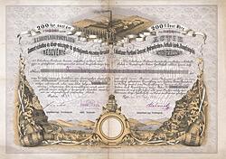 L�bataner Portland-Cement, Hydraulische- und Fettkalk-Fabrik und Dampfziegel-AG, Pest, 1870