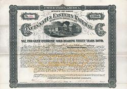 Cincinnati and Eastern Railway Company, 1881
