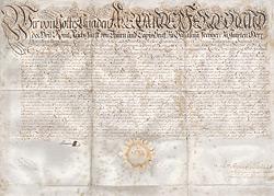 Alexander Ferdinand F�rst von Thurn und Taxis Patent der K�niglichen Reichspost  Regensburg, 1758, original signiert von dem F�rsten Alexander Ferdinand von Thurn und Taxis