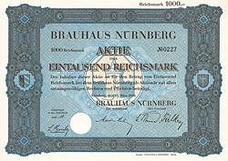 Brauhaus Nürnberg , 1930