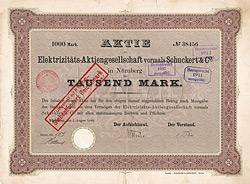 Elektrizitäts-AG vormals Schuckert & Co.