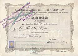 Schieferbau-AG Nuttlar, 1867