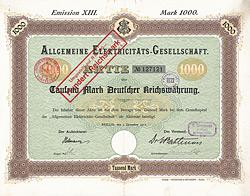 Allgemeine Elektricitäts-Gesellschaft Berlin
