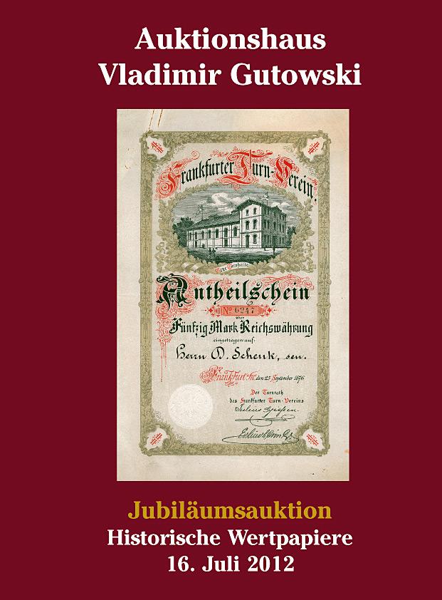 Vladimir Gutowski - Das Auktionshaus Ihres Vertrauens